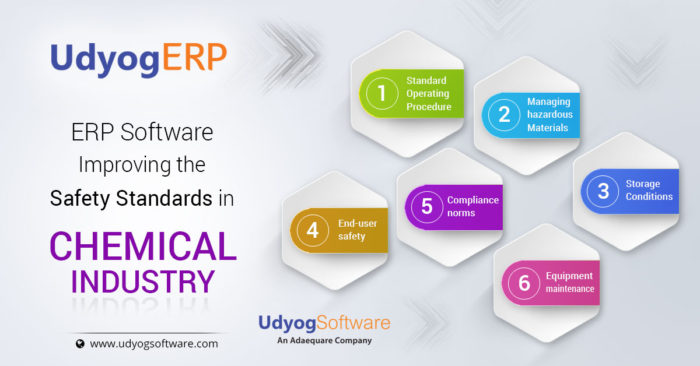 ERP Software- Improving The Safety Standards in Chemical Industry
