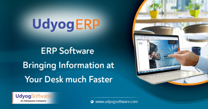 ERP Software- Bringing Information at Your Desk much Faster